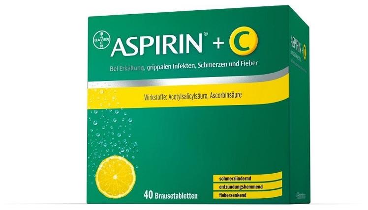 Aspirin +C Brausetabletten